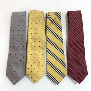 Brooks Brothers Makers Silk Ties Lot of 4
